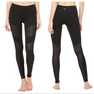ALO Yoga Black Moto Leggings Sz Small